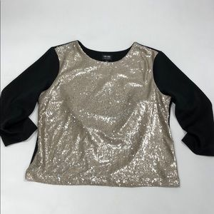 Nicole by Nicole Miller Sequined Top